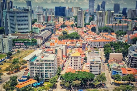 Central Place with City View & very accessible - Singapore - Lägenhet