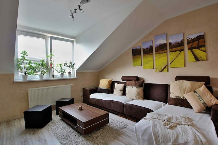 Stylish room only 6km from city center - Bratislava - Lejlighed