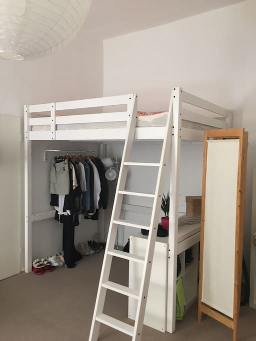 Loft bunk (fits 2 people)