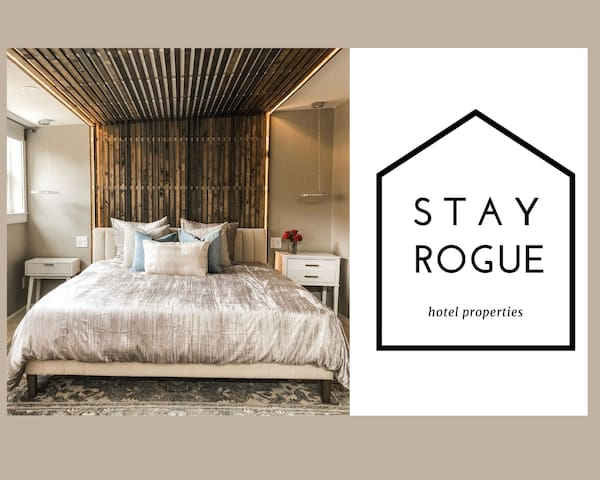 Sophisticated Downtown Suite- Stay Rogue
