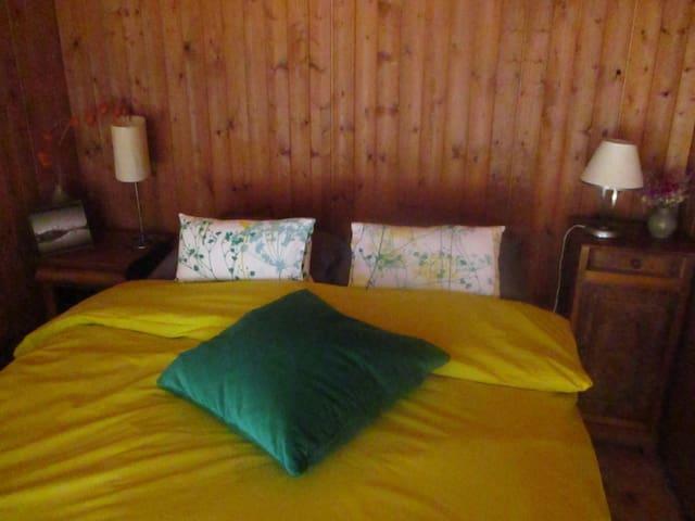 chambre privée à 5' des pistes de ski de La Féclaz - Les Déserts