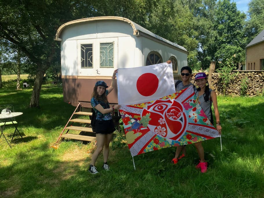 Last year guests from Japan