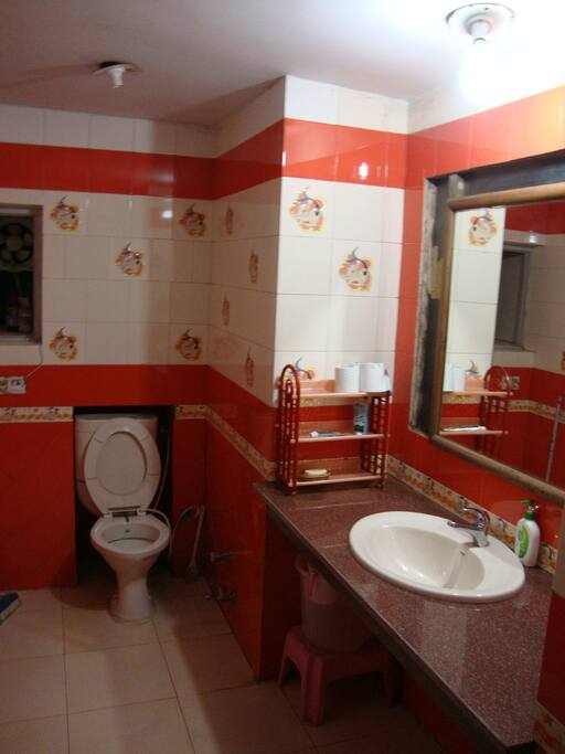 Washroom-Full bath/Toilet