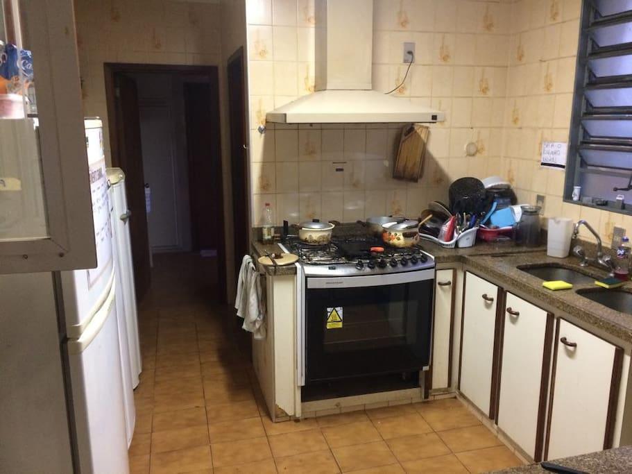 Cozinha de uso compartilhado