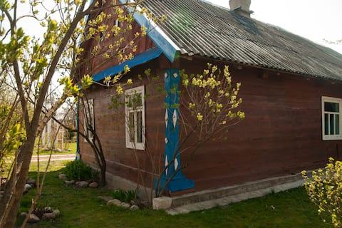 Колоритное подворье  рядом с Беловежской Пущей