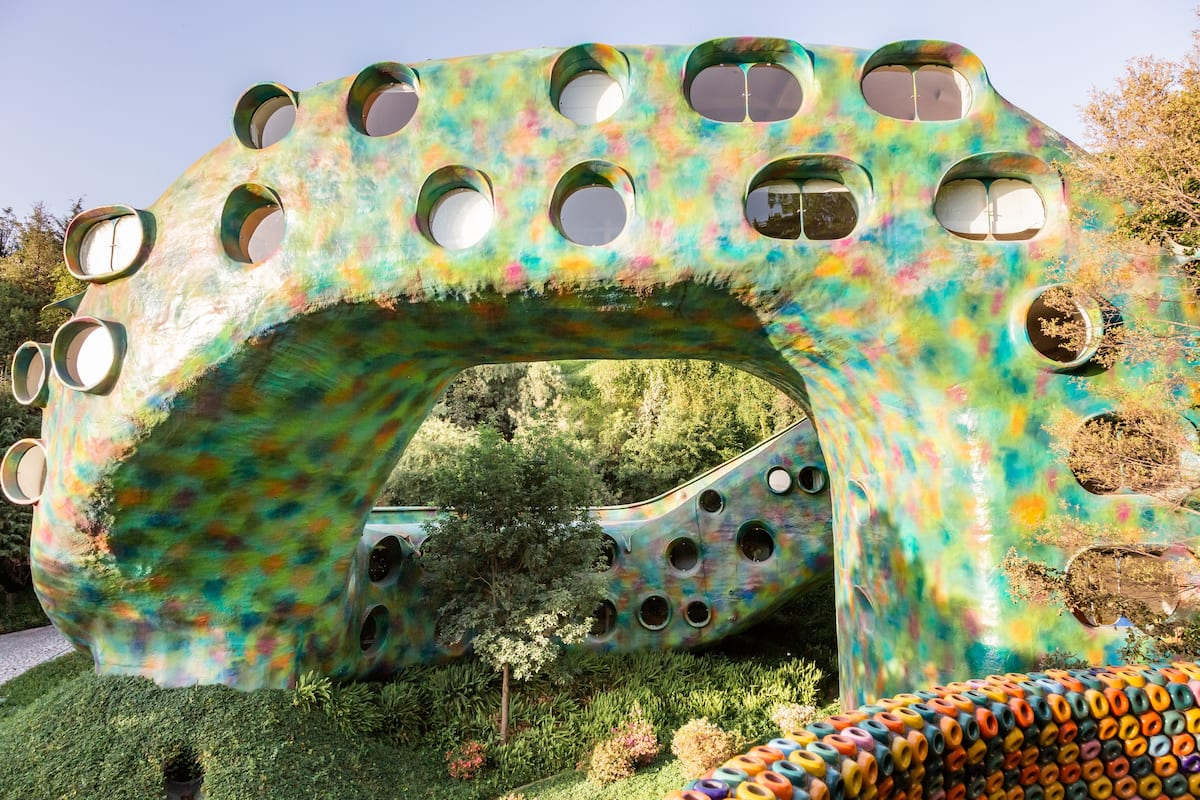 Airbnb Con Forma De Serpiente Mitológica