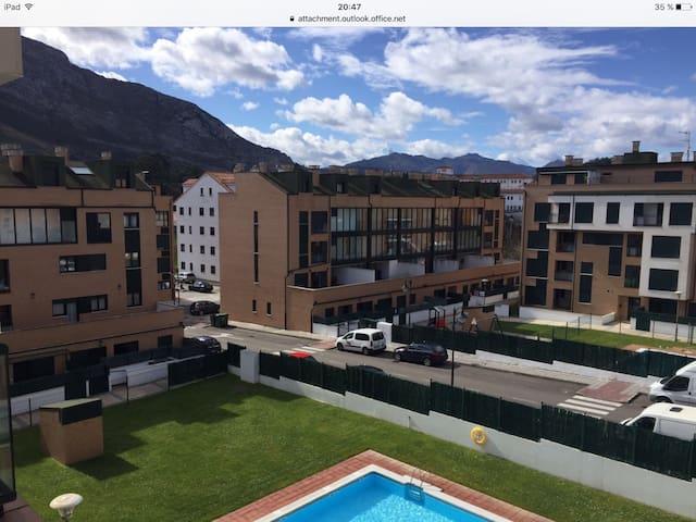 Acogedor apartamento con garaje - Asturias - Appartement