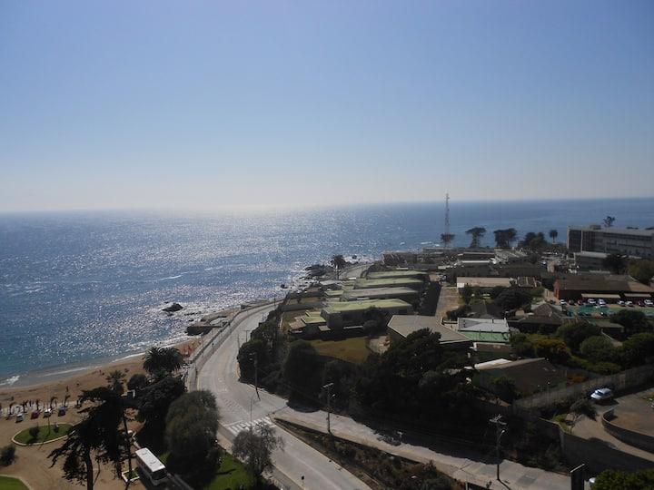 Ocean view apartment in Valparaíso