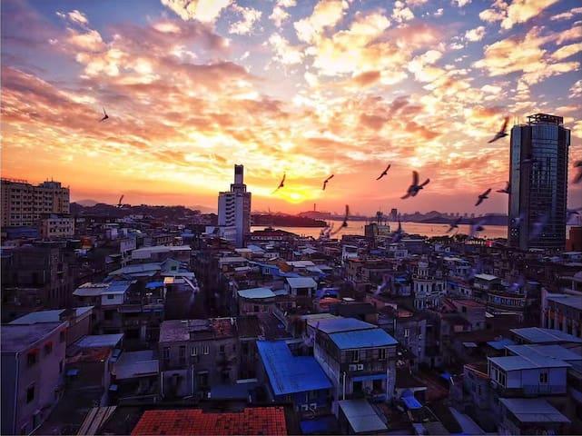 此间民宿丨中山路左近 整栋独立使用的三层小洋楼 - Xiamen