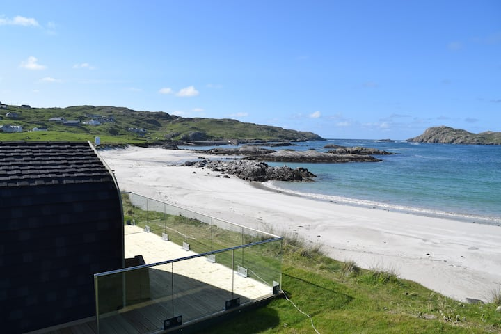 The Beach Bothies, Uig, Isle of Lewis