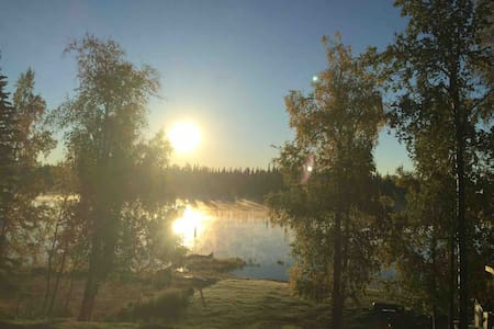 Alaska Lakefront Getaway