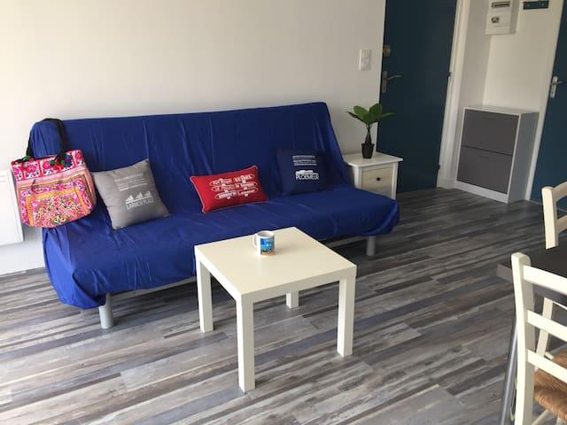 Appartement neuf à 150 m à pied de la plage
