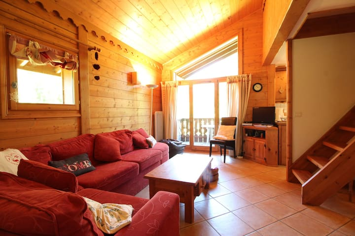 ALPN04 - 3 bedroom 6people : wifi, parking facing spa & ski bus