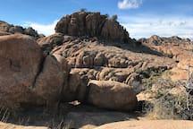 Granite Dells a spectacular walk