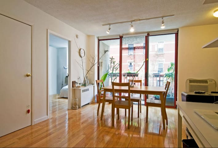 Bright and lovely 1 bdrm apt in LES