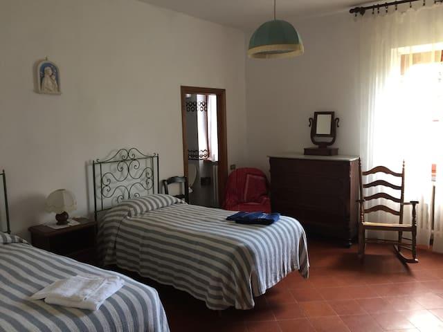 Double bedroom with en-suite bathroom ground floor