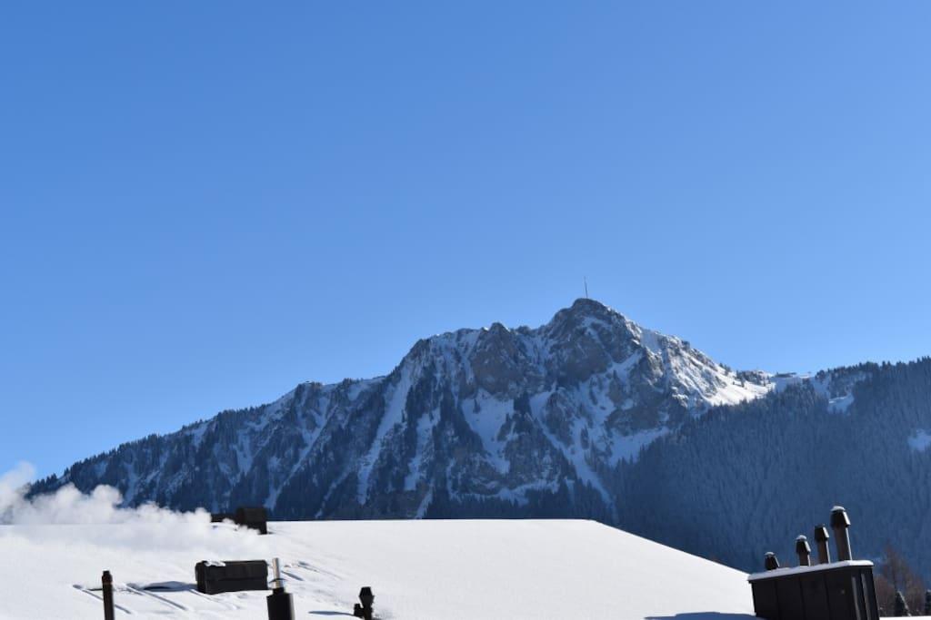 Vue sur le Chamossaire