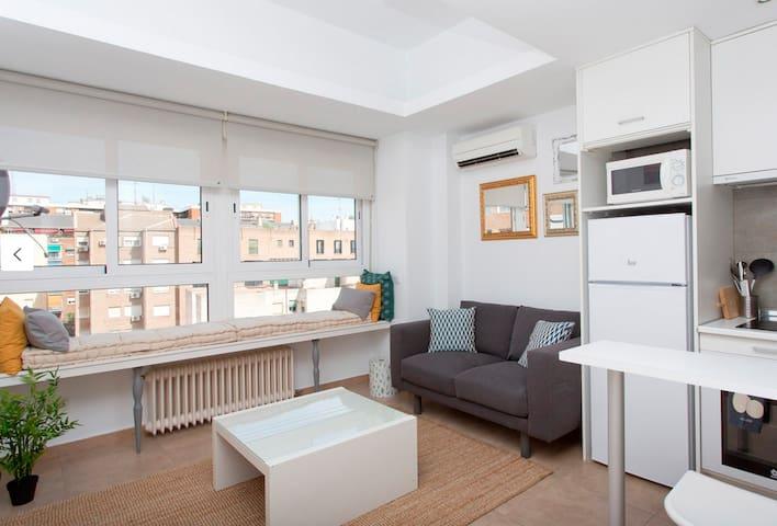 Apartamento tranquilo y luminoso