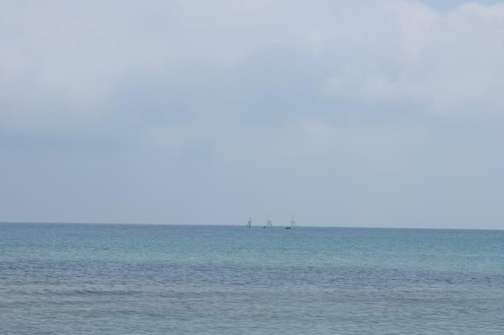 scuola vela, San Cataldo