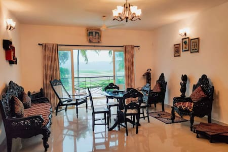2BHK Luxury apartment in rustic village.