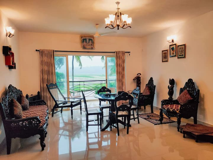 2BHK Luxury apartment in rustic village.