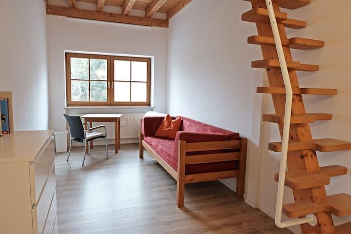 Helles, ruhiges Zimmer in Dorfrandlage in Wengen - Dießen am Ammersee - Apartamento