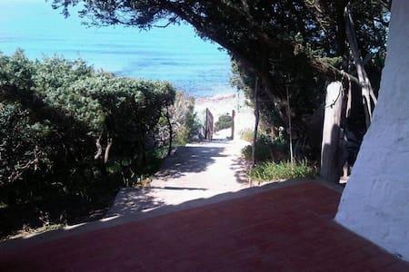 villa sulla spiaggia - Porto Pino