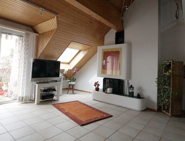Appartement en attique à 500m de l'EPFL et du lac - Ecublens - Apartment