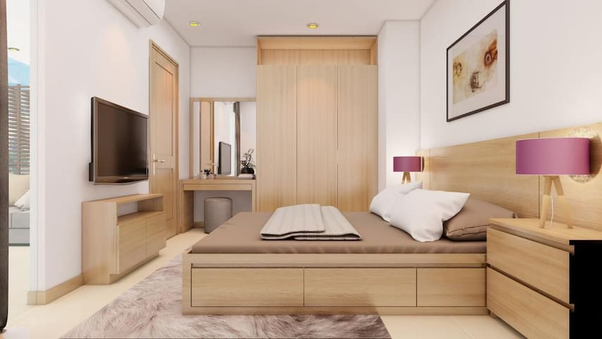 Luxury Apartment in 4* Maple Hotel