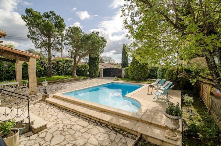 Villa avec piscine en Sud-Ardèche - Aubenas - Casa
