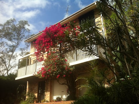 Beautiful House by the River – King or Twin with Sunny Views