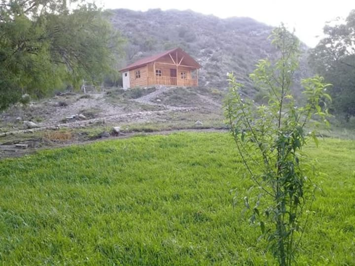 Cabaña 2 sobre la loma