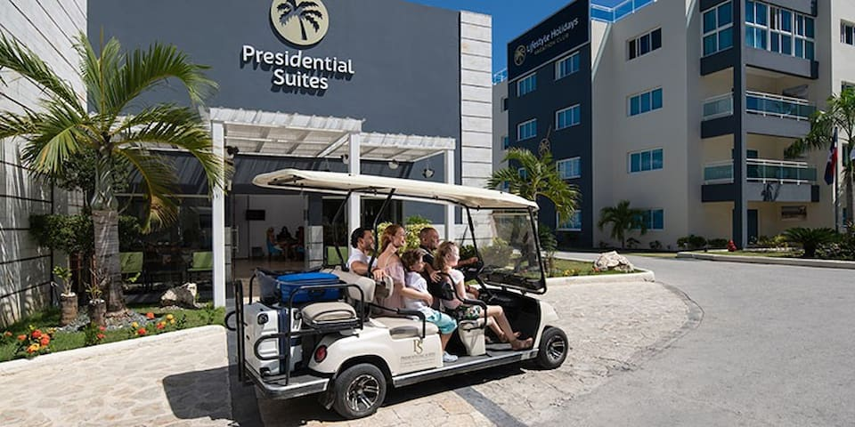 1 Bdrm Suite at Presidential Suites Punta Cana