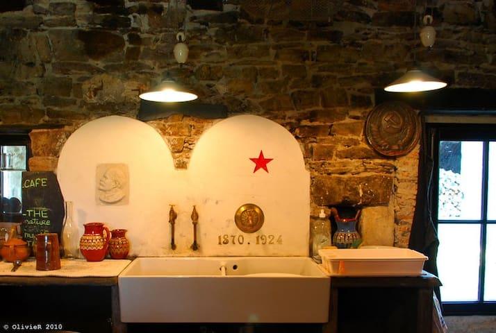 le lenincafé , la maison russe - Chalonnes-sur-Loire
