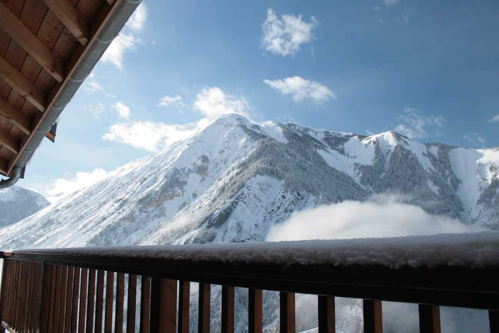 Stunning vistas from our large balconies.