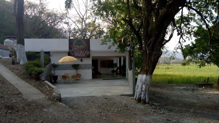 Habitación de Hotel Posada Los Cedros