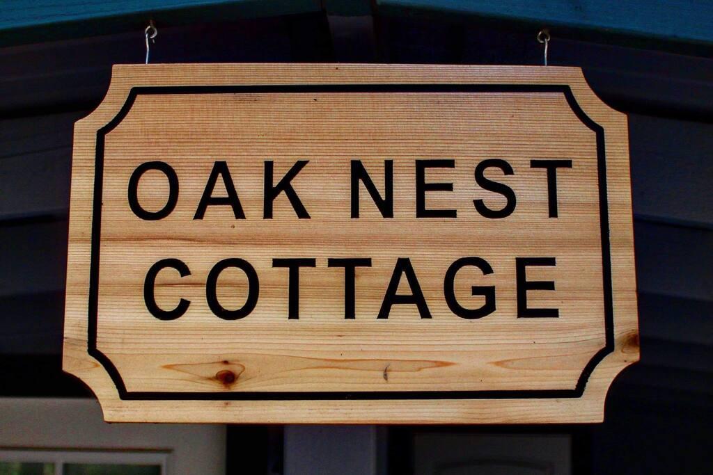 Cozy oak nest cottage.
