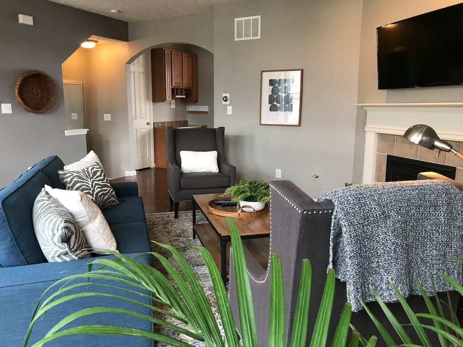 Newly furnished throughout
