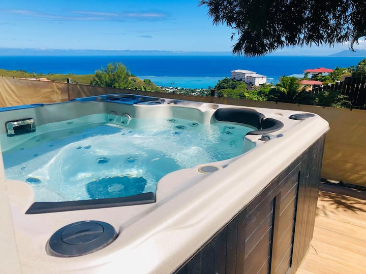 The secret spot, splendides vues, jacuzzi