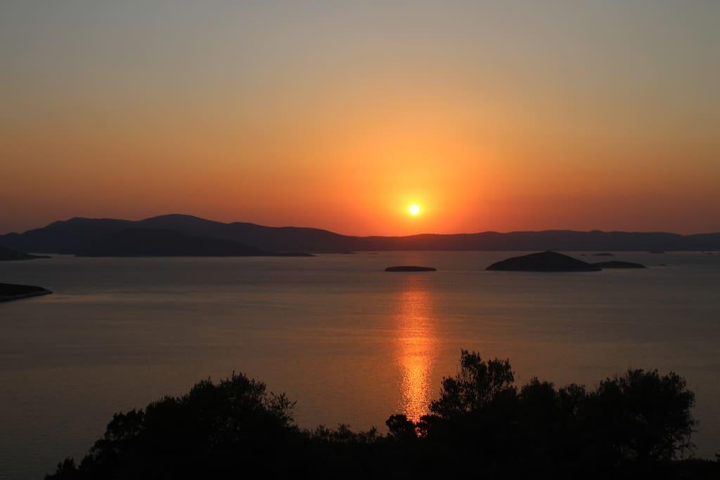 Sunrise in Agia Marina
