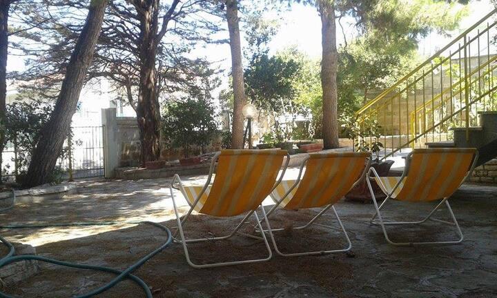 Villa Stella vicina al mare, giardino e 2 verande