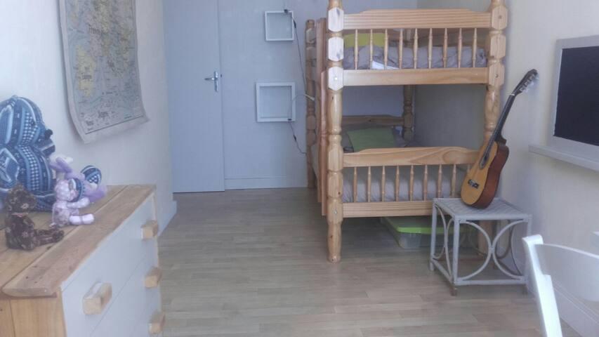 Chambre des enfants (Lits séparables)