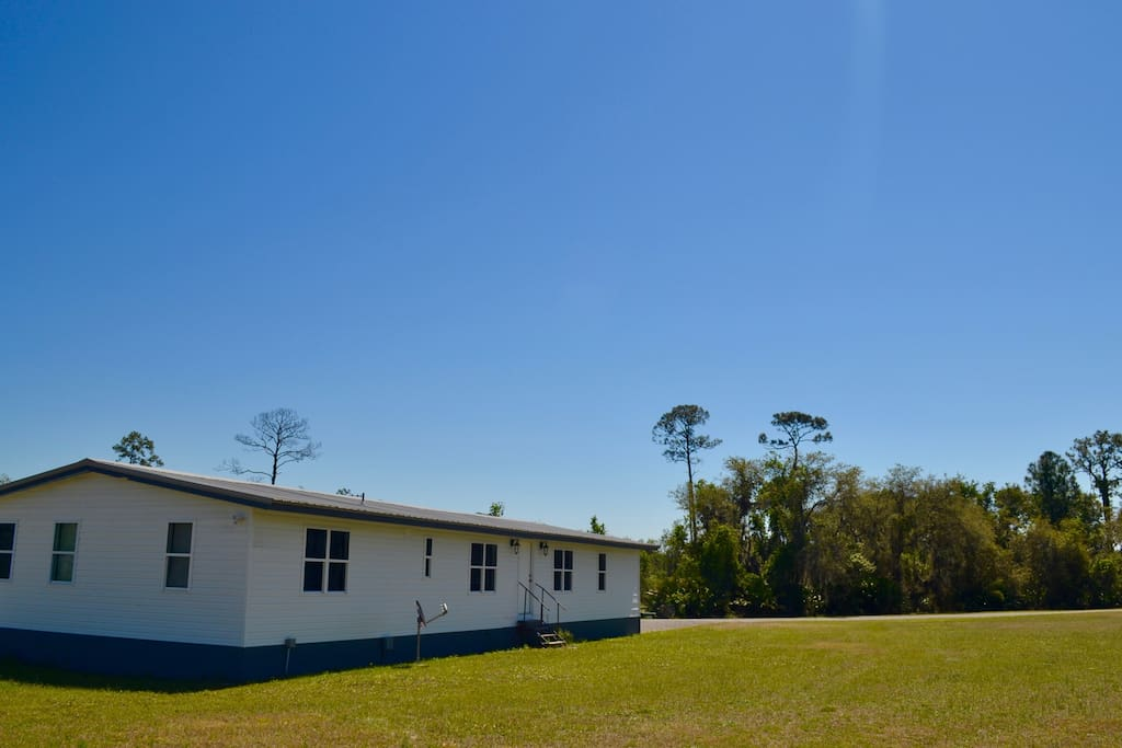 Nestled on a family owned blueberry farm Central Florida.