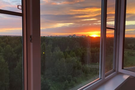 Apartment in Yaroslavl with a great view