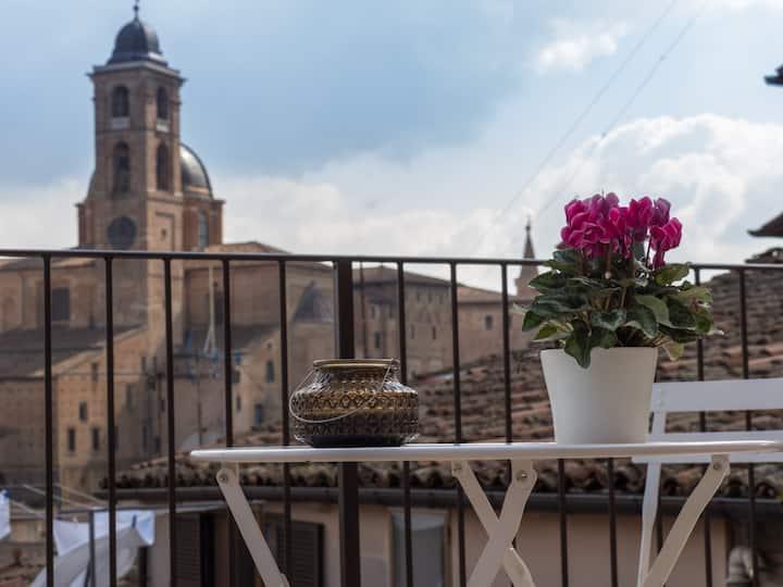 La terrazza su Urbino