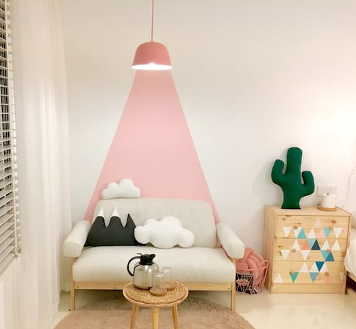 Hoo!民宿〔Miss. PINK〕位于成都4A级景区的粉色少女房 - 成都 - Bed & Breakfast