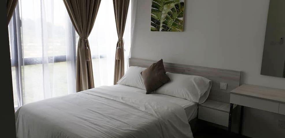 1 Bedroom Studio A @ Cyberjaya | Wifi | Gym | Pool