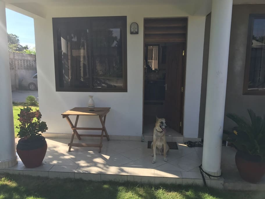 Front of the house + Asali