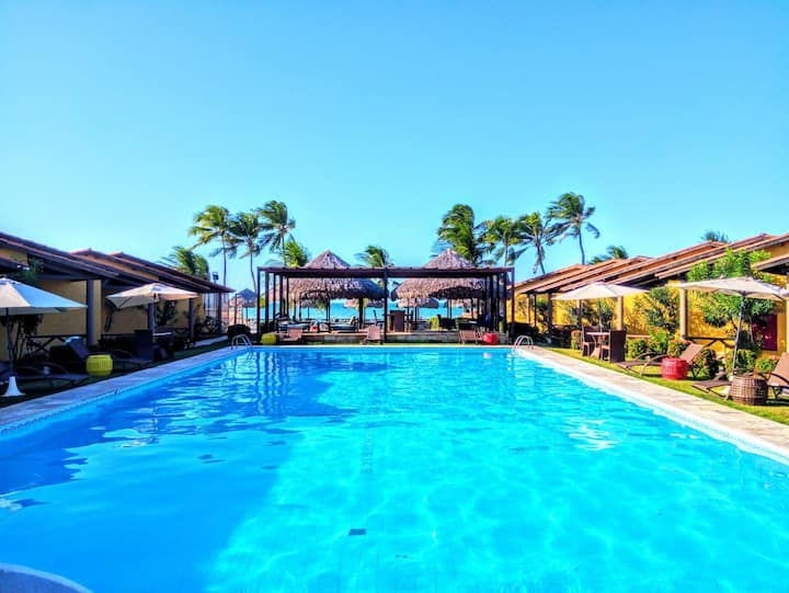 Quarto de Hotel Aconchegante na Praia de Cumbuco
