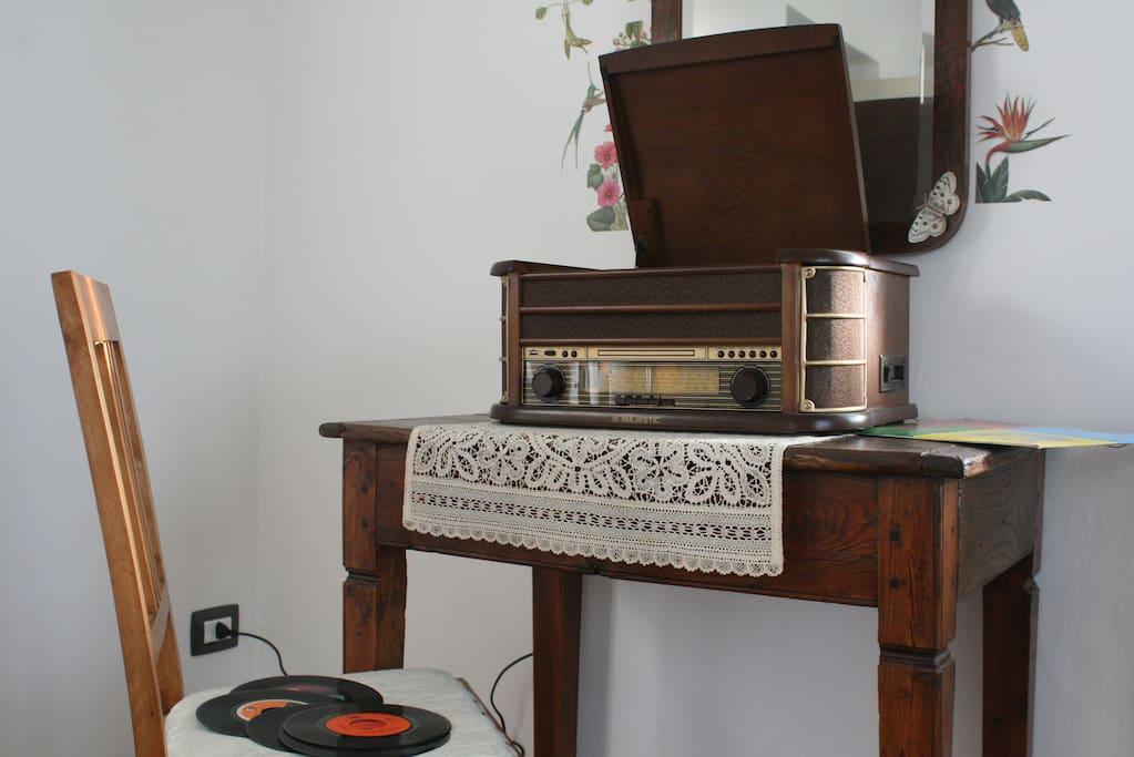 Angolo vintage: il giradischi!